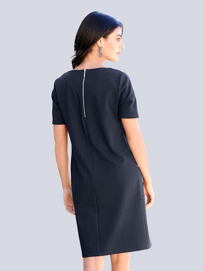 Kjole i elastisk jersey