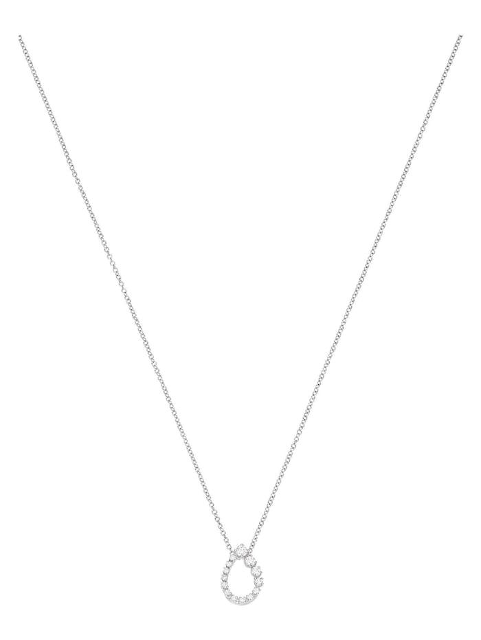 CHRIST Diamonds CHRIST Diamonds Damen-Kette 585er Weißgold 14 Diamant, weißgold