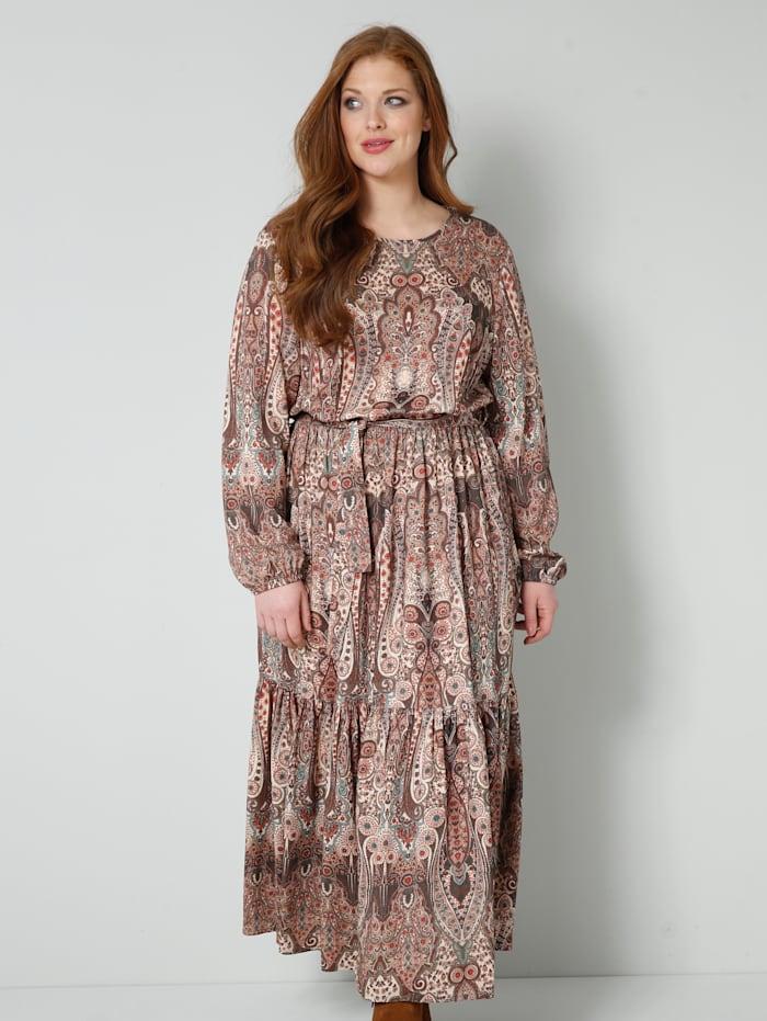 Web-Kleid im Ethno-Style