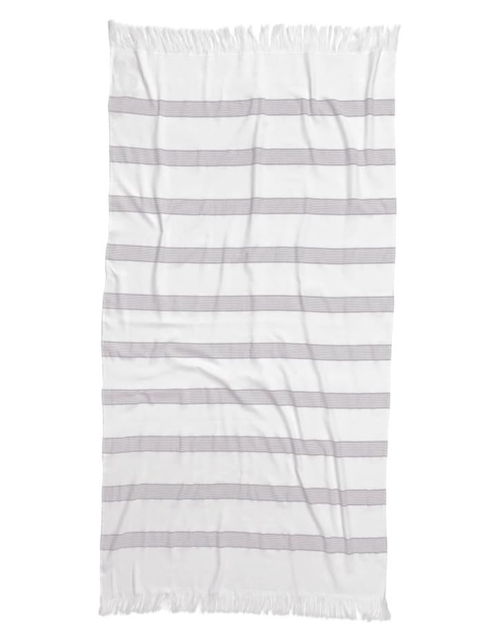Tom Tailor Strandhandduk, silvergrå