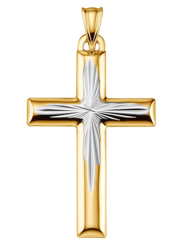 Tvåfärgat kors, Gul
