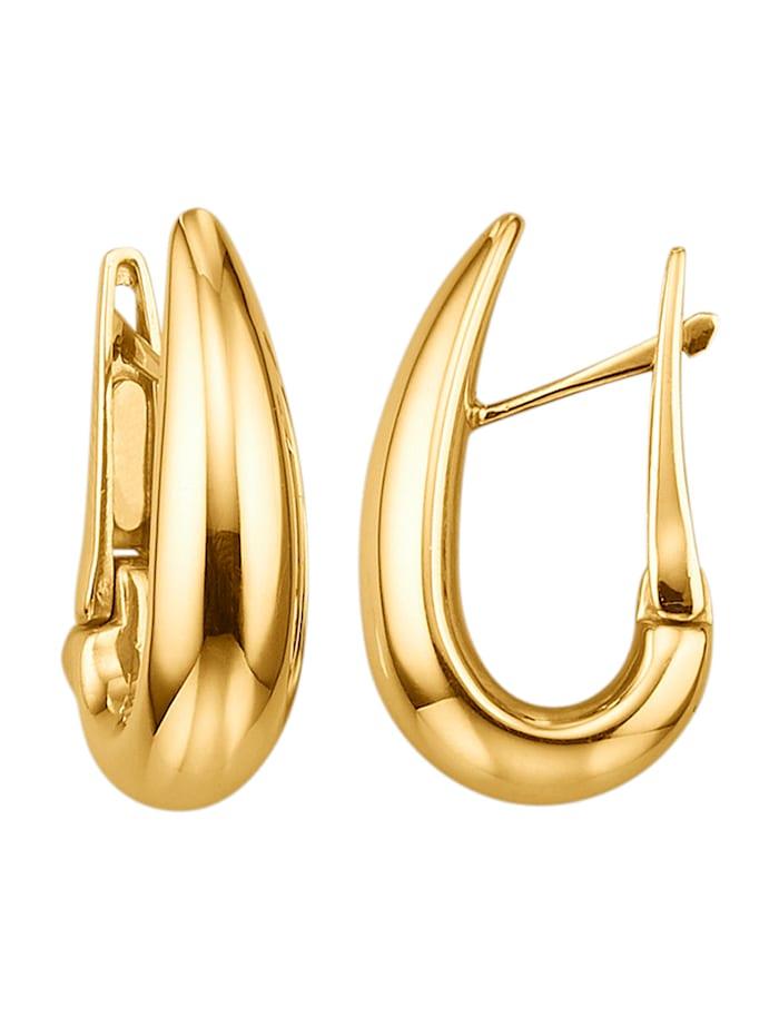 Diemer Gold Ohrringe in Gelbgold 750, Gelbgoldfarben