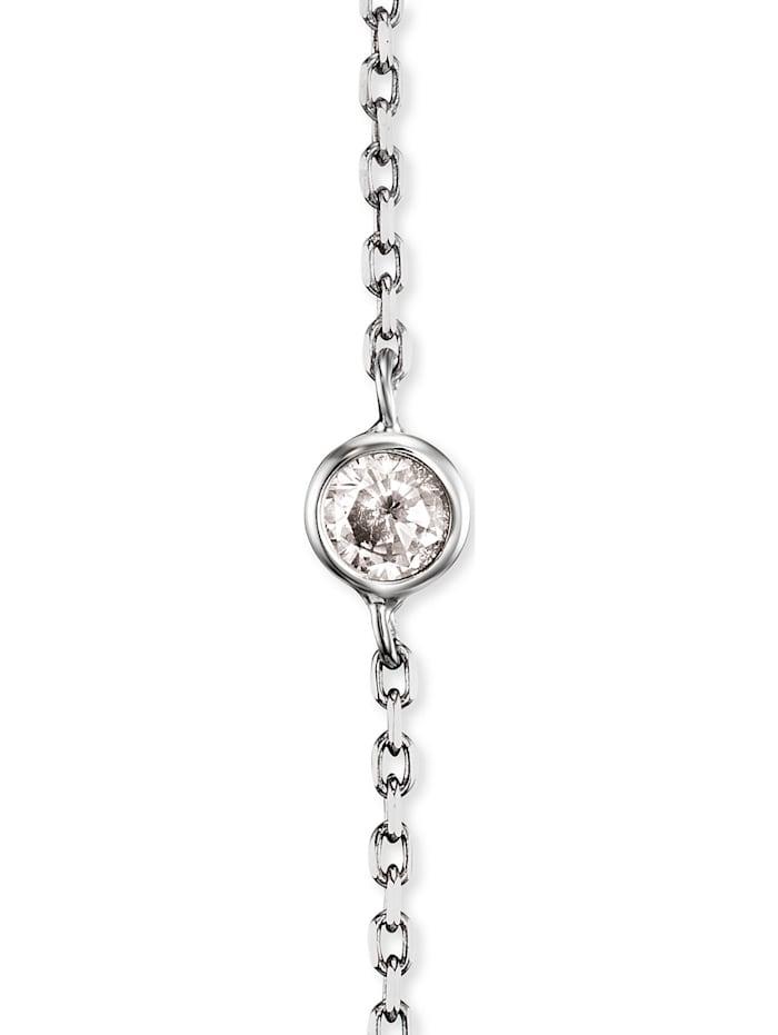 Engelsrufer Damen-Ohrstecker Moonlight 925er Silber rhodiniert 6 Zirkon