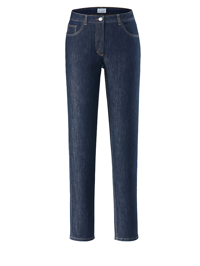 Angel of Style Jeans Carla, Dunkelblau