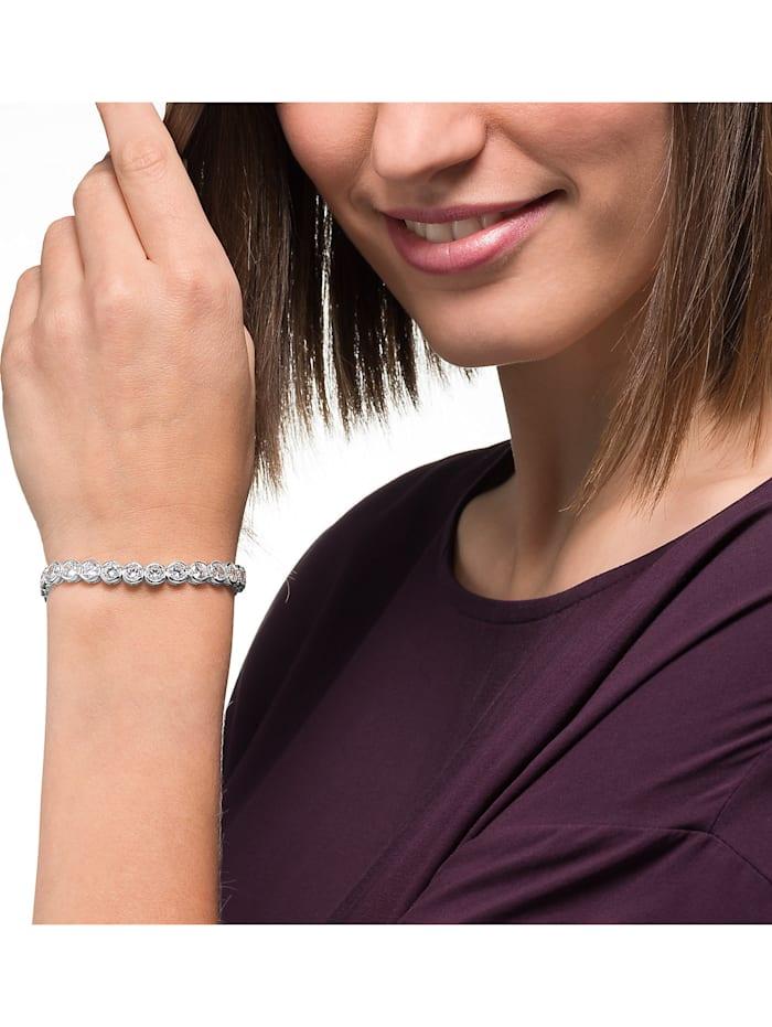 FAVS Damen-Armband 925er Silber rhodiniert 30 Zirkonia