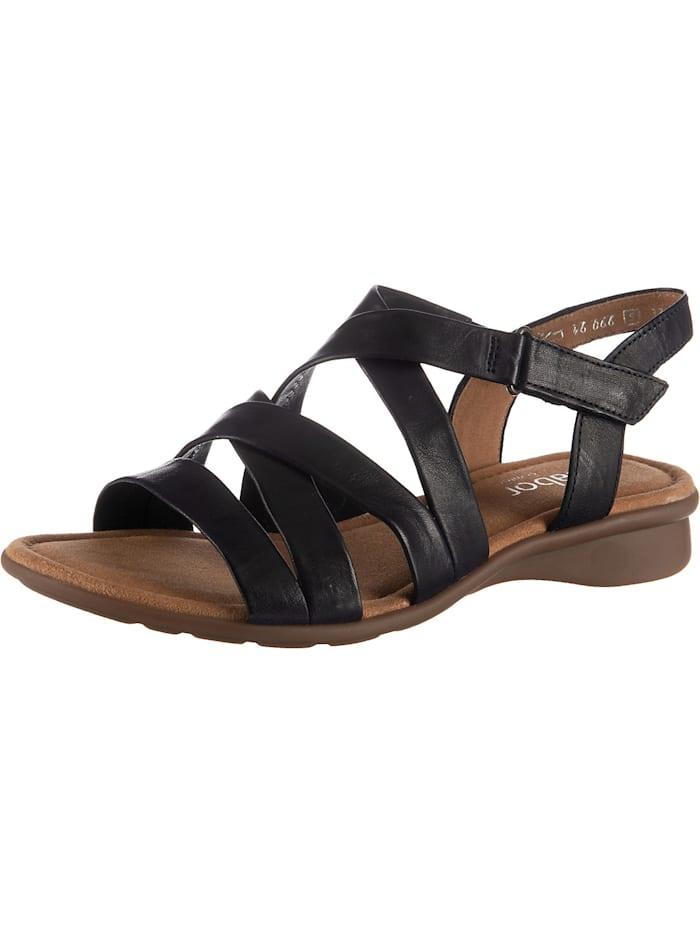 Gabor Klassische Sandalen, dunkelblau