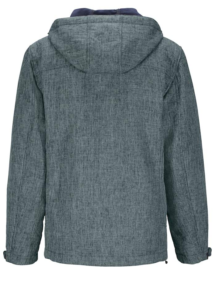 Softshell jas met fleece voering