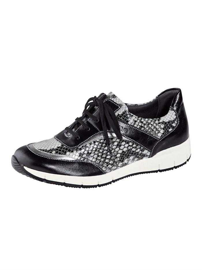 Suave Šnurovacia obuv, Čierna