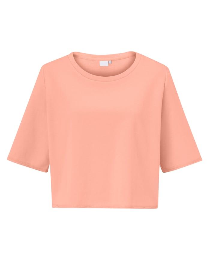 REKEN MAAR Sweatshirt, Pfirsich