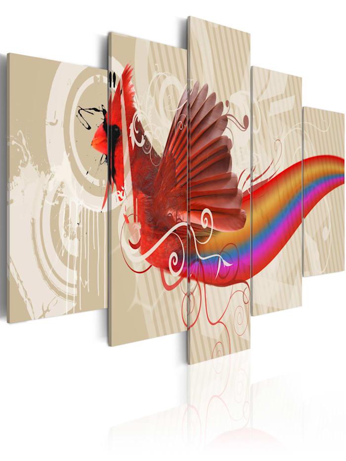 artgeist Wandbild Maniac, mehrfarbig