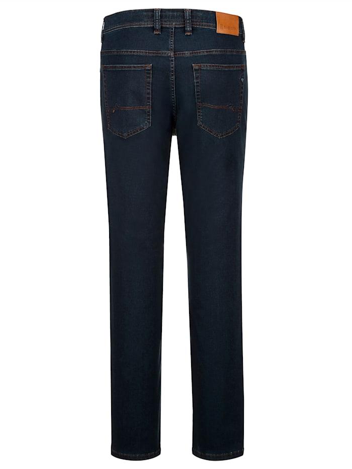 Jeans i mjukt material med lyocell