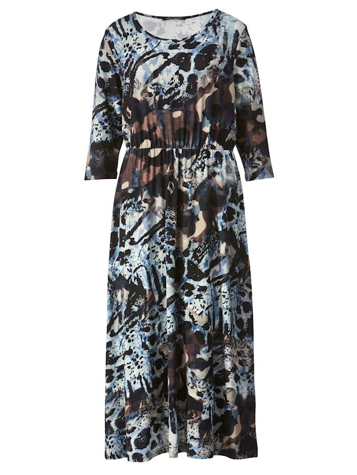 Jersey jurk van soepelvallend materiaal