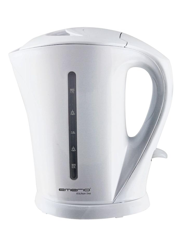 Emerio Kabelloser Wasserkocher 'WK-111082', weiß, weiß