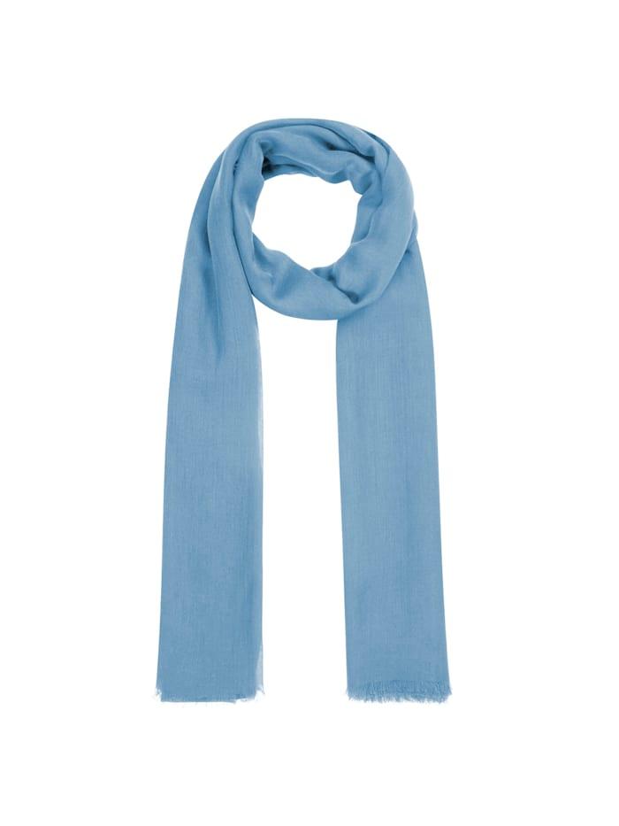 Codello Supersofter XL-Schal aus Bambus, light blue