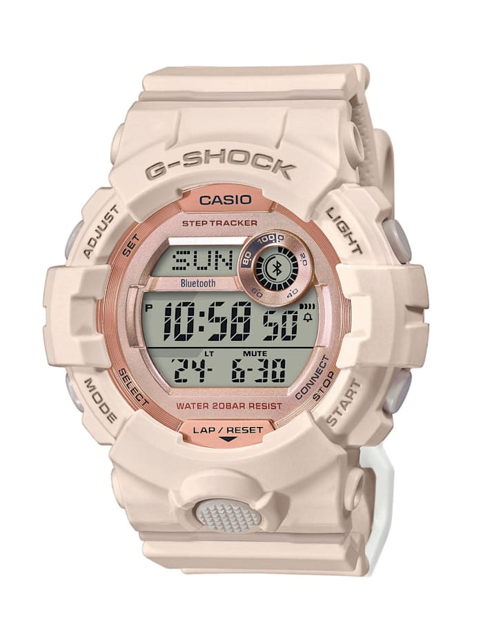 Casio Damenuhr G-Shock GMD-B800-4ER, Beige