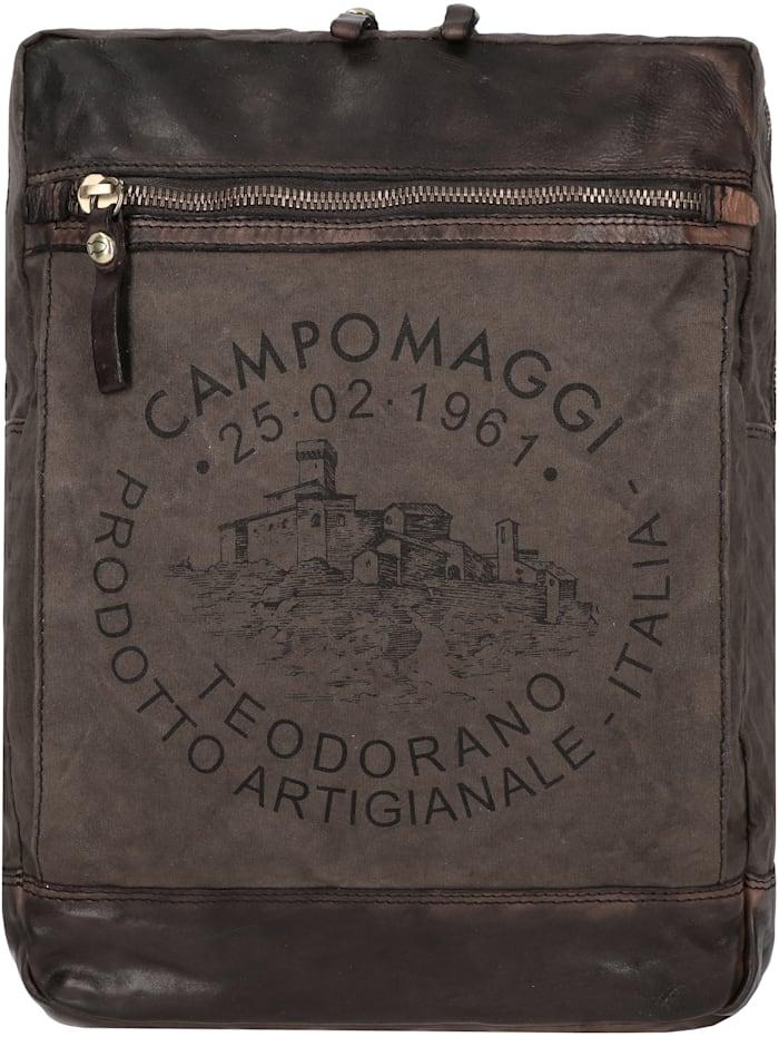 Campomaggi Rucksack 36 cm, v.militare t/grigio+st.nera