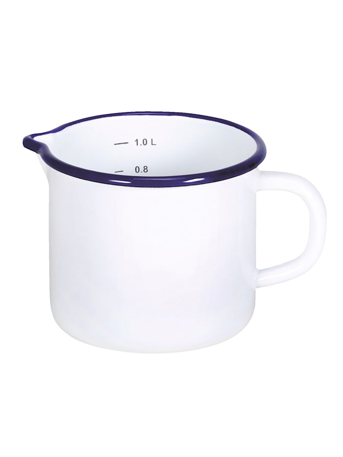 Mjölkkastrull i emalj – Husum