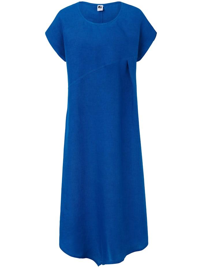 Anna Aura Kleid aus Leinen, royalblau