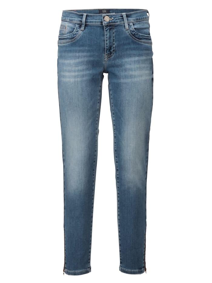 Jeans mit Reißverschluß am Saum