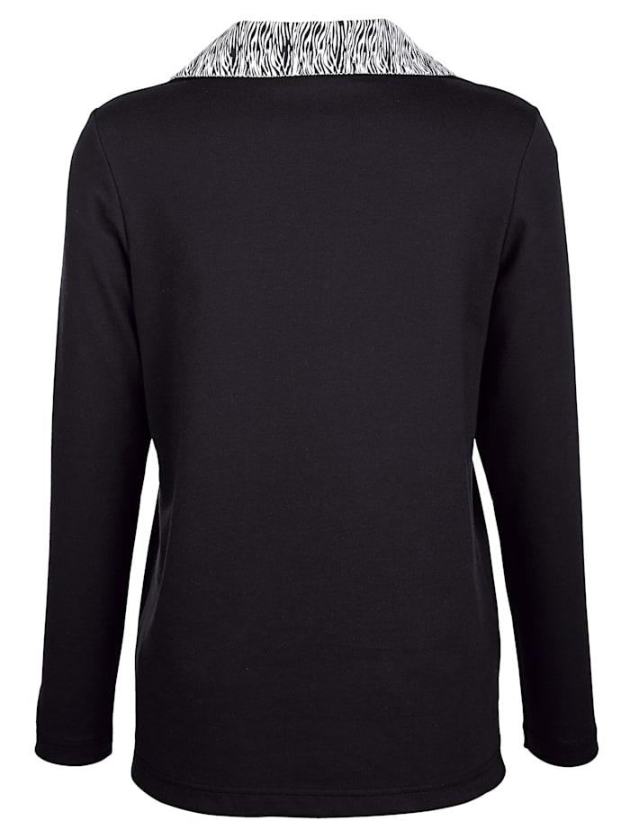 Sweatshirt mit Stickereimotiv