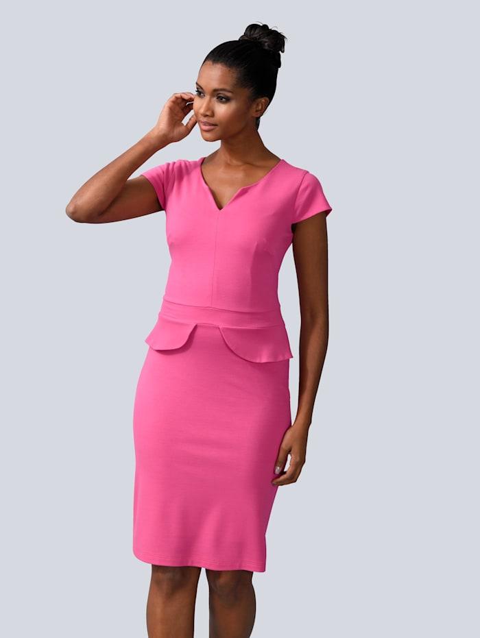 Alba Moda Kjole i figurnær passform, Pink
