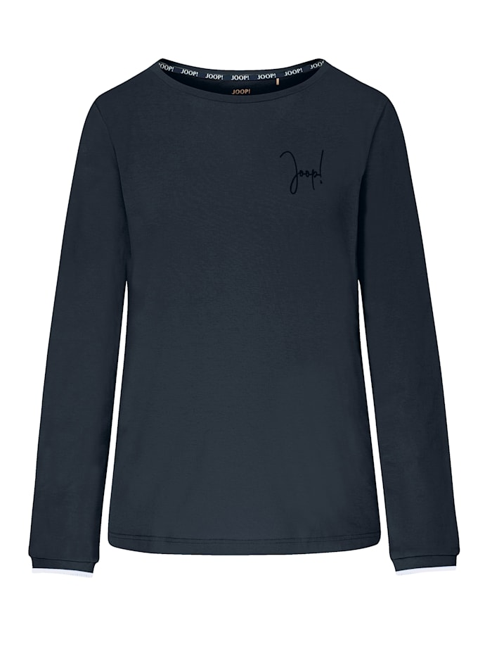 JOOP! Shirt aus der Serie Easy Leisure, Nachtblau