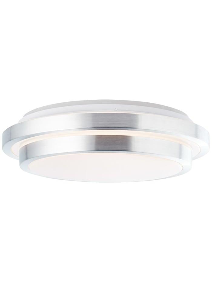 Brilliant Vilma LED Deckenleuchte 41cm weiß-silber, weiß-silber