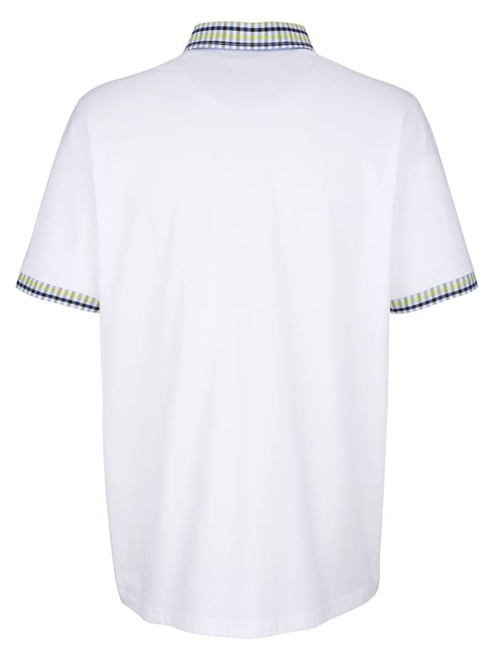 Tričko s kontrastným vypracovaním