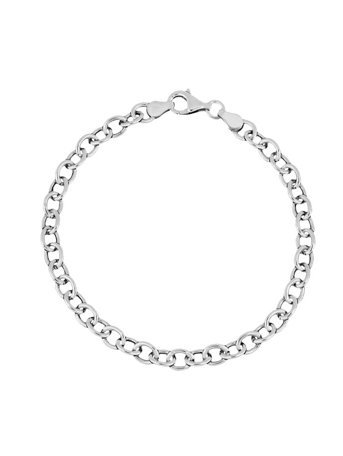 Grazielli Ankerarmband in Silber 925, Silberfarben
