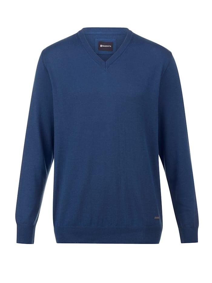 BABISTA Pullover in pflegeleichter Qualität, Blau
