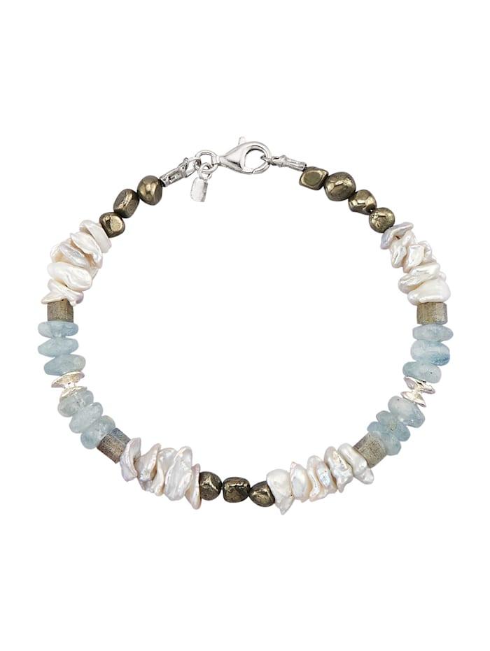 Armband in Silber 925, Weiß