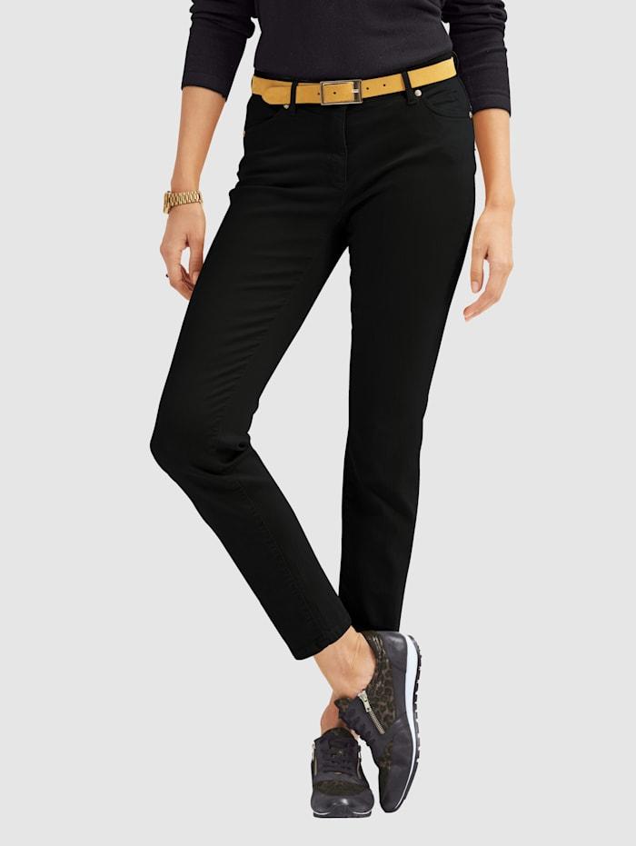 Toni Jeans colored denim, Schwarz