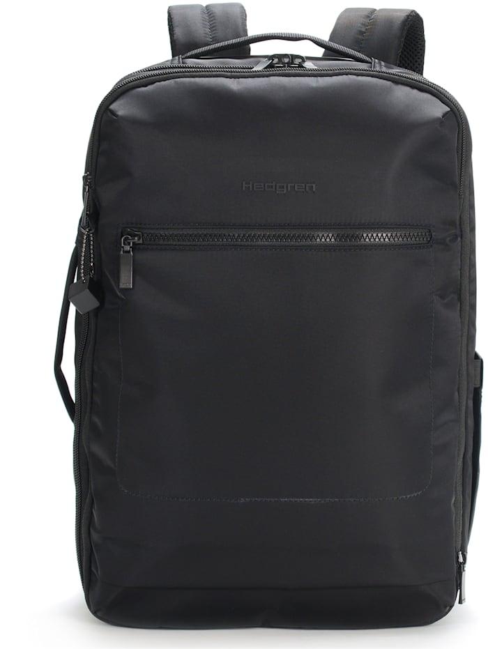 Hedgren Inner City Wander Businessrucksack RFID 41 cm Laptopfach, black