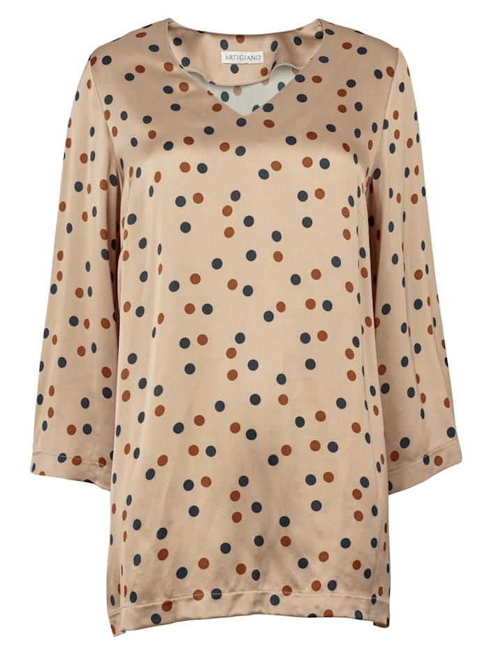 Tunic with a subtle shimmer