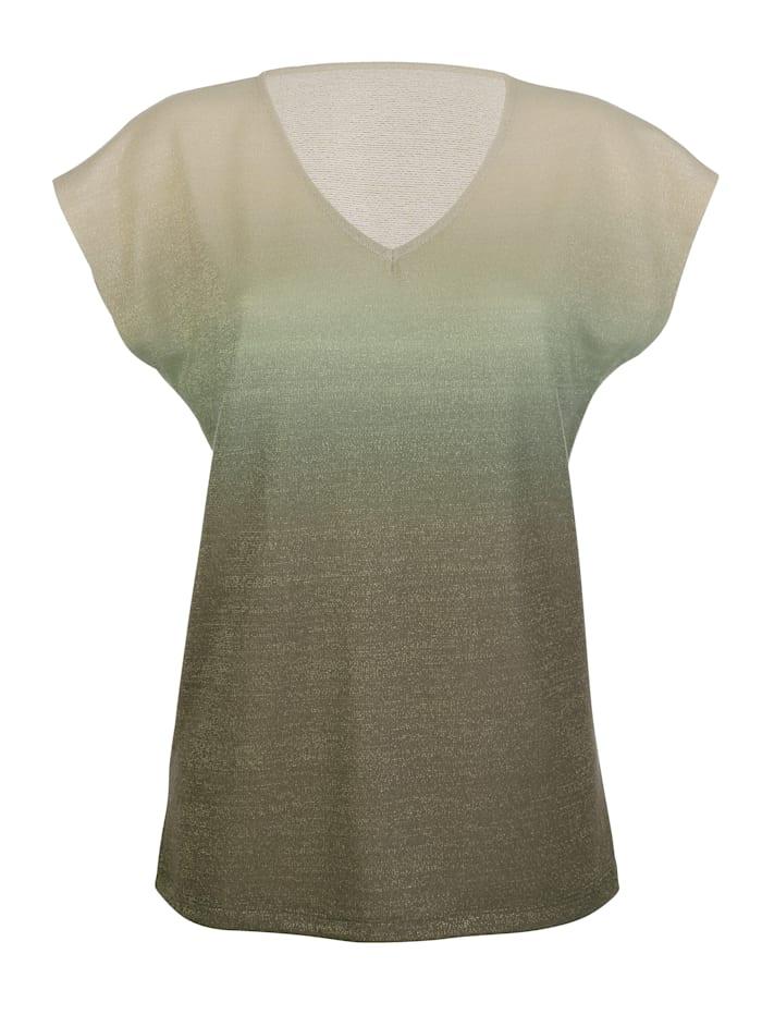 T-shirt à dégradé de couleurs
