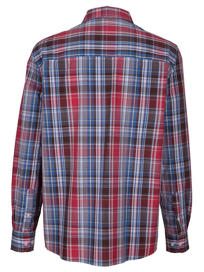 Hemd mit praktischer Brusttasche