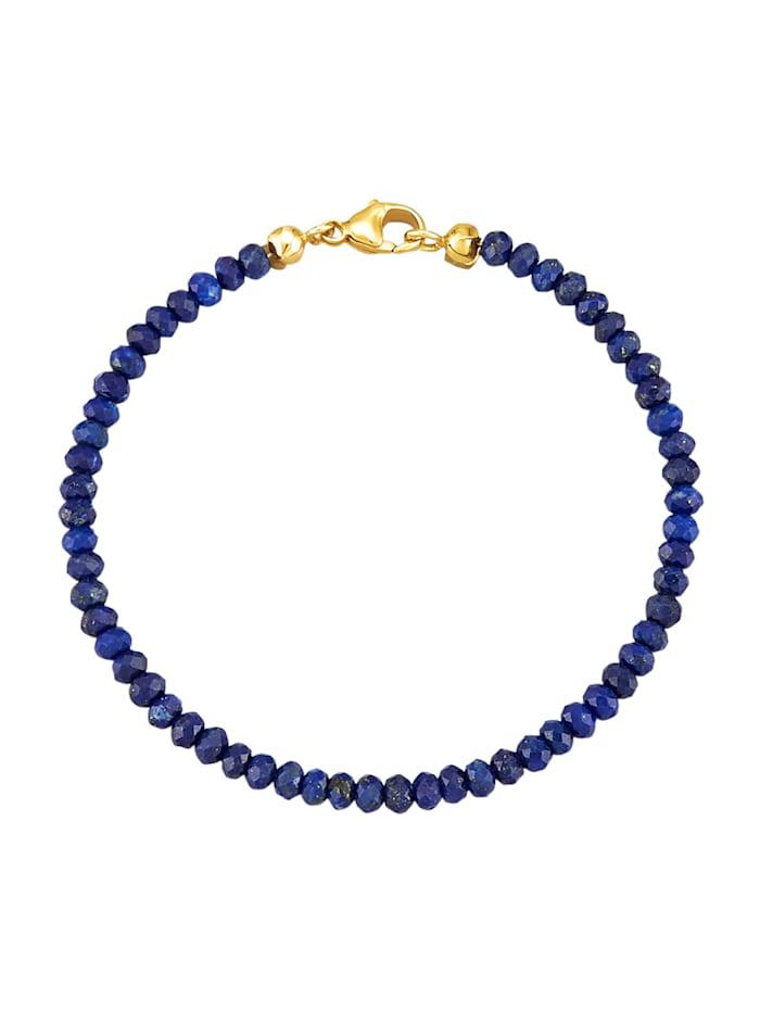 Diemer Highlights Armband met lapis lazuli, Blauw