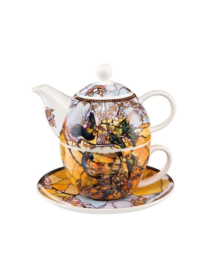 Goebel Goebel Tea for One Louis Comfort Tiffany - Sittiche, Tiffany - Sittiche