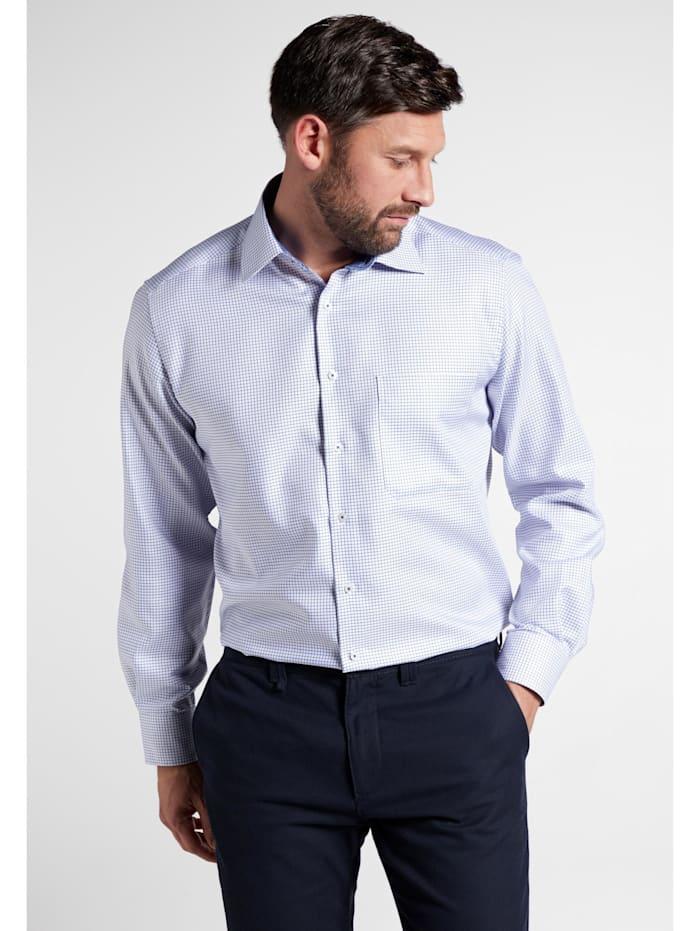 Eterna Eterna Langarm Hemd COMFORT FIT, blau