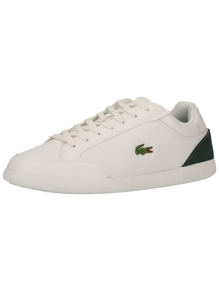 LACOSTE LACOSTE Sneaker, Weiß/Grün