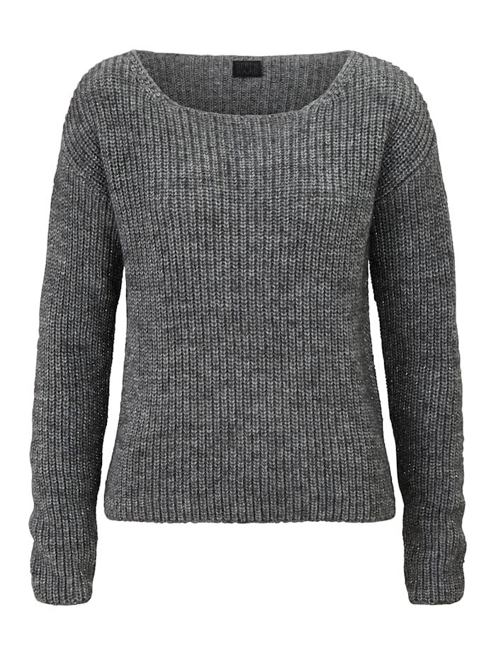 REKEN MAAR Pullover, Grau