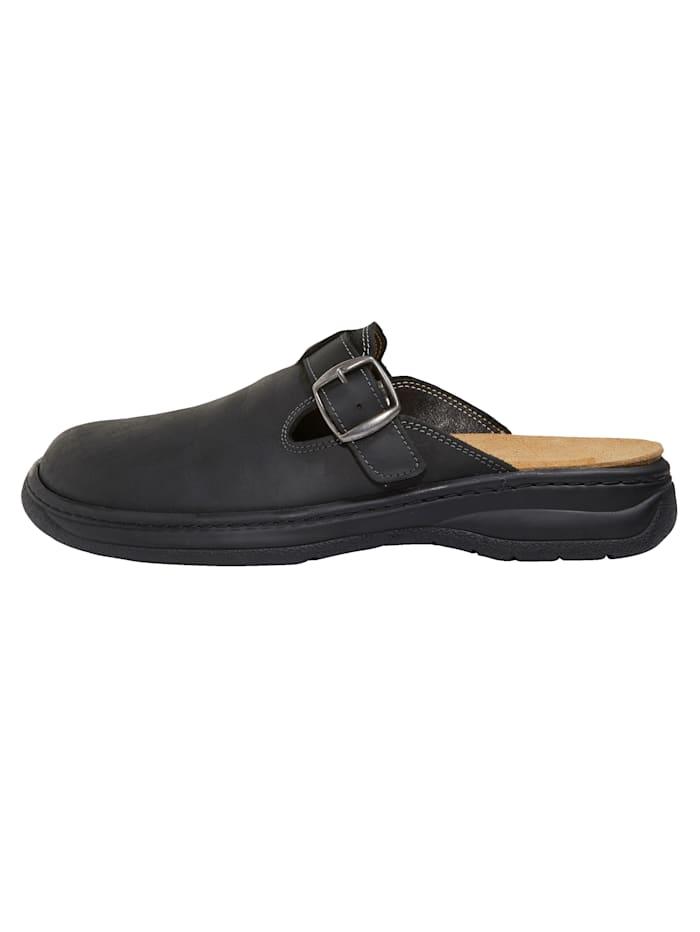 Nazouvací obuv s vyměnitelnou korkovou stélkou