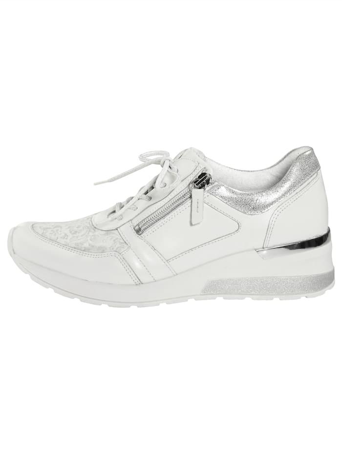 Šnurovacia obuv so zipsom