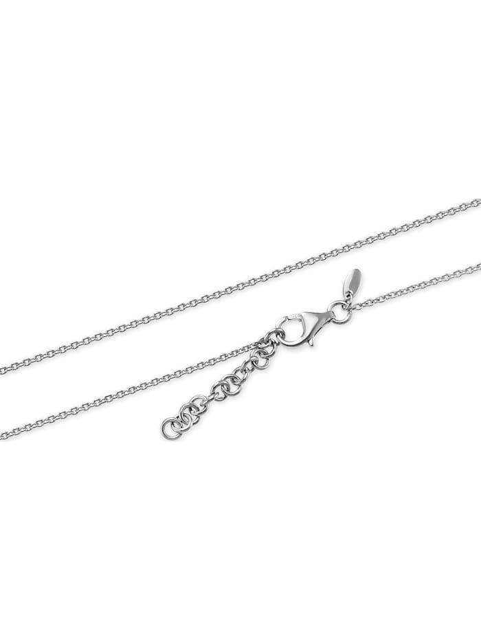 FAVS Damen-Kette 925er Silber 1 Zirkonia