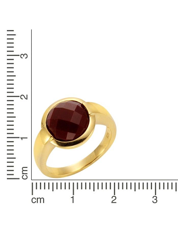 Ring 925/- Sterling Silber Achat rot Glänzend 925/- Sterling Silber