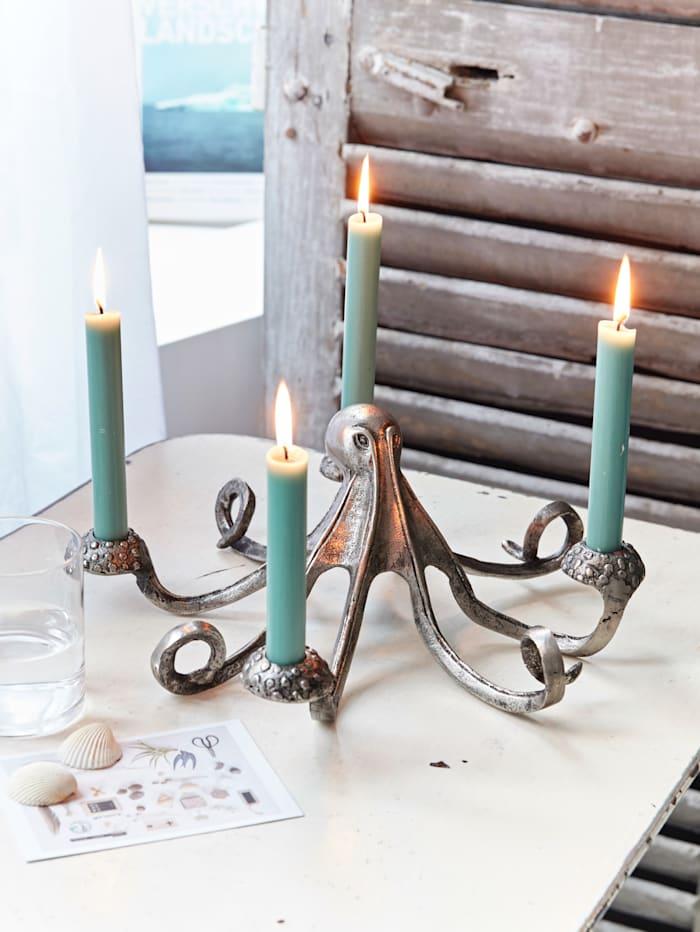 Kerzenhalter, Krake