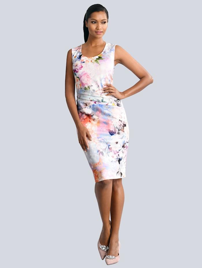 Alba Moda Kleid in femininer Silhouette, Rosé/Altrosa
