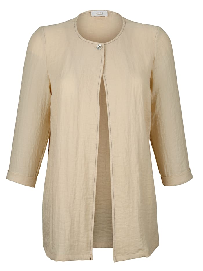 Blusjacka i öppen modell