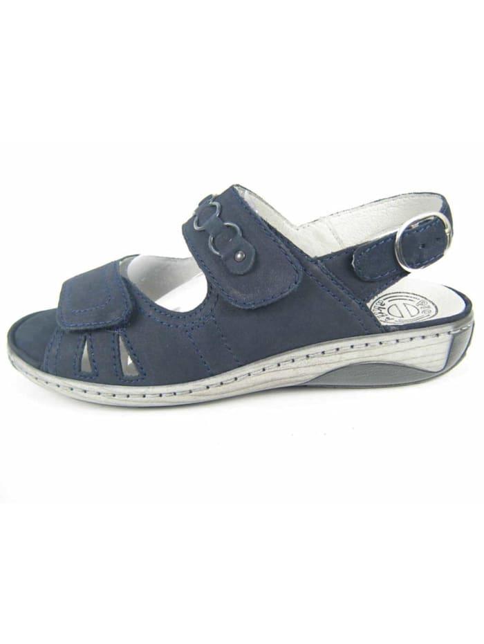 Damen Sandale in blau