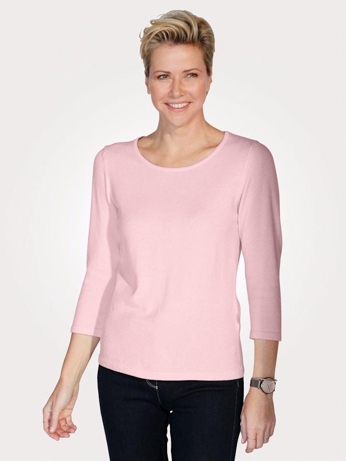 MONA Pullover in Traumhaft-Qualität, Rosé